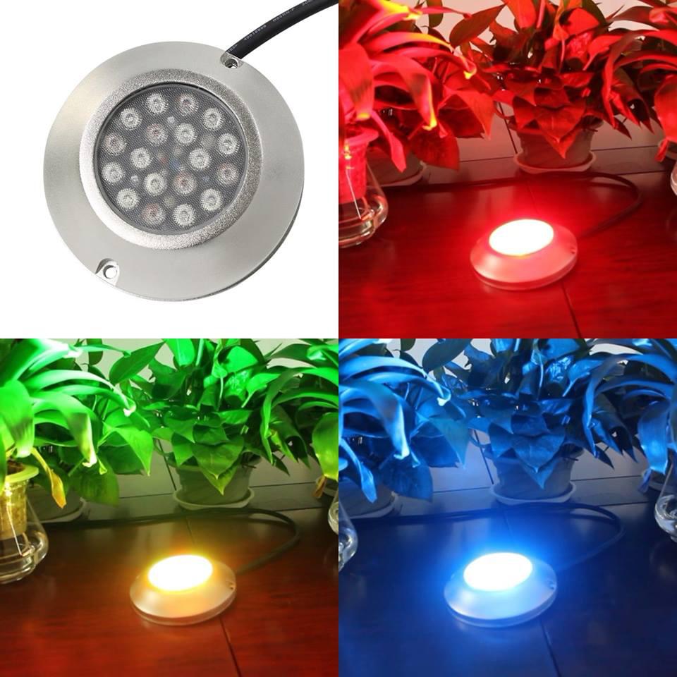 RGB LED Underwater Pool Light