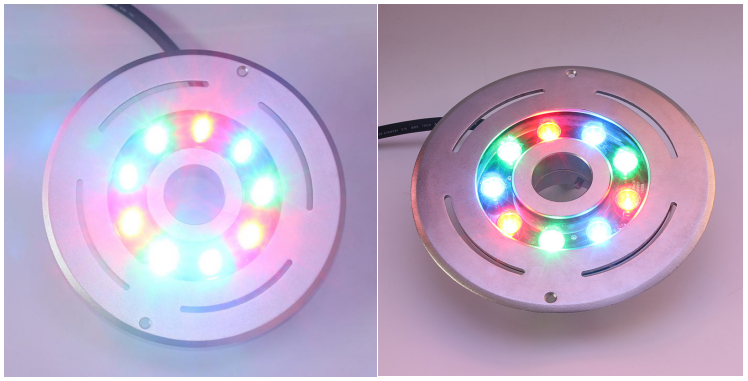 Color Changing LED Underwater Lights