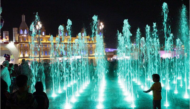 Stainless Steel led fountain light