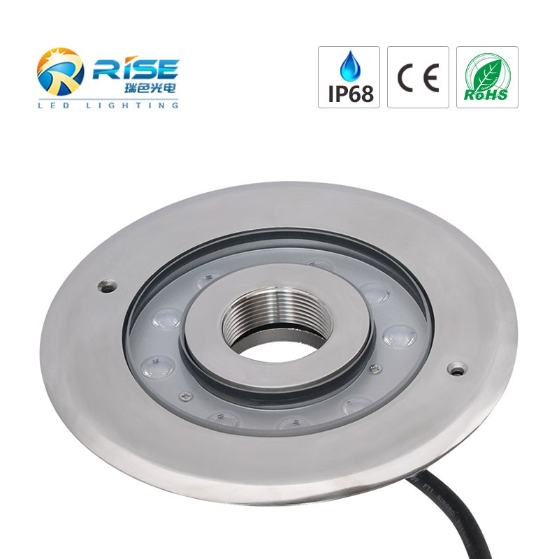 LED Recessed Fountain Light