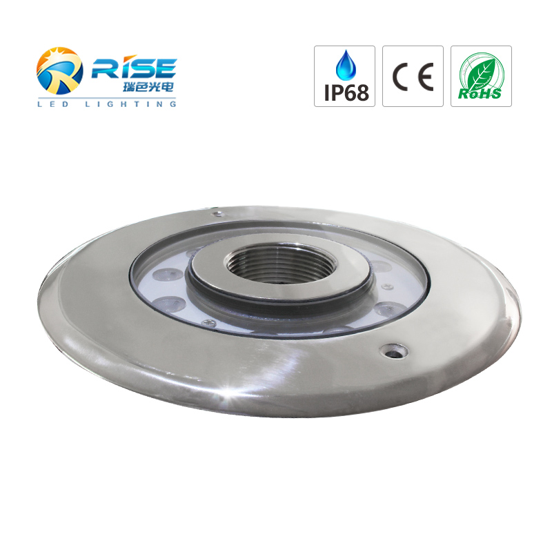 Recessed Fountain Light