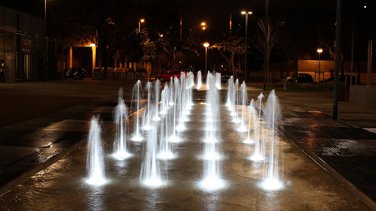 Fountain Lighting Application