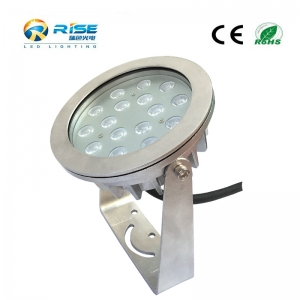 16x3W 48W LED Underwater Pond Light With Remote Controller