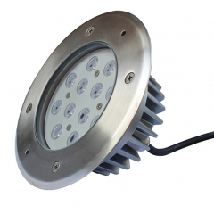 12x1W led underground lighting lamp