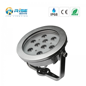 9x3W 27W Waterproof LED Underwater Pool Light