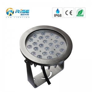 24x3W 72W LED Pool Light With 316L Stainless Steel