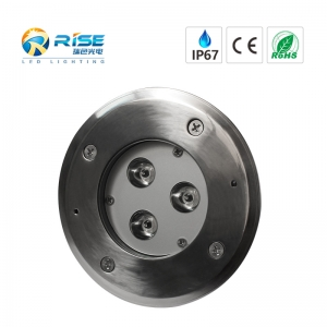 3W High Power LED Recessed Inground Lights