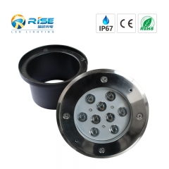 led inground lights with 160mm