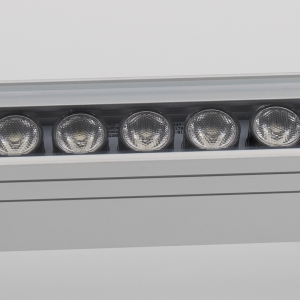 500mm 18W IP65 LED Wall Washer With DMX Controller