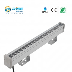 RGB DMX led wall washer light