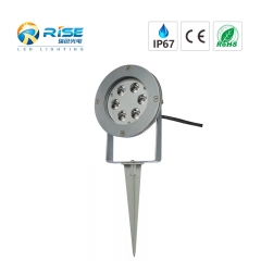 DC12V warm white LED garden spotlight