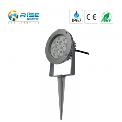 Outdoor Lighting 12*1W RGB Spike Light