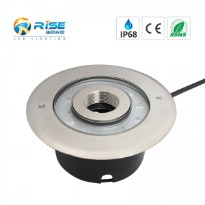 9x3W 27W LED Recessed Fountain Light