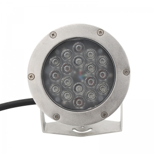 18x3W stainless steel recessed pool light underwater light