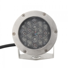 stainless steel recessed pool light
