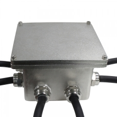 Practical IP68 Stainless steel 316L junction box