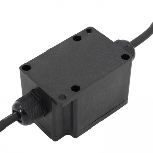 IP68 Waterproof Plastic ABS Black Junction Box for Lighting Project
