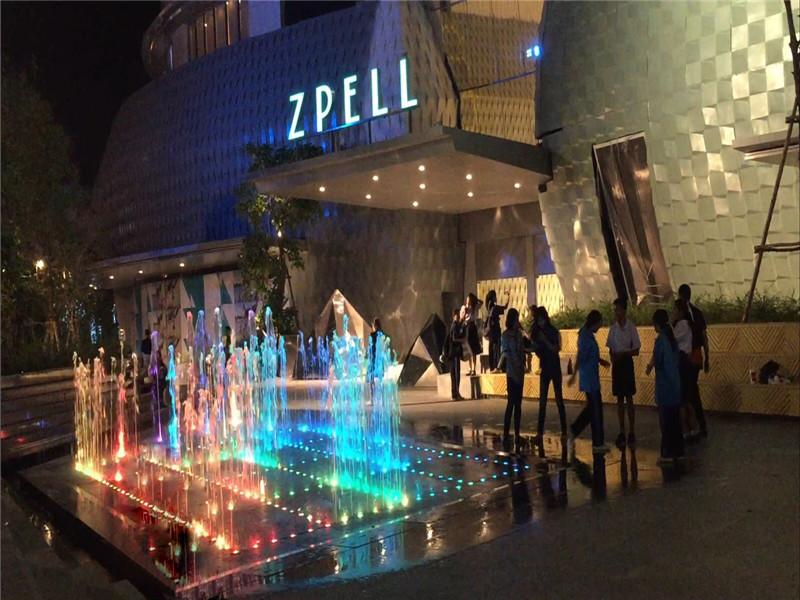 Fountain Project in Zpell Plaza Bangkok, Thailand