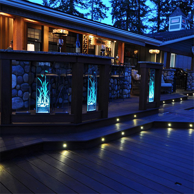 To Decorate Your home with RISE LED Deck Light
