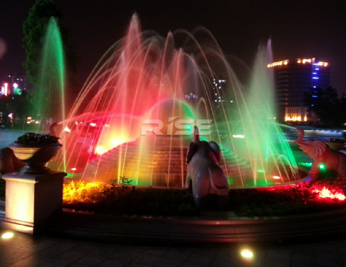 RGB DMX 316SS led fountain light